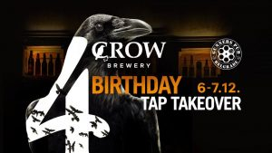 Crow Brewery Birthday Tap Takeover